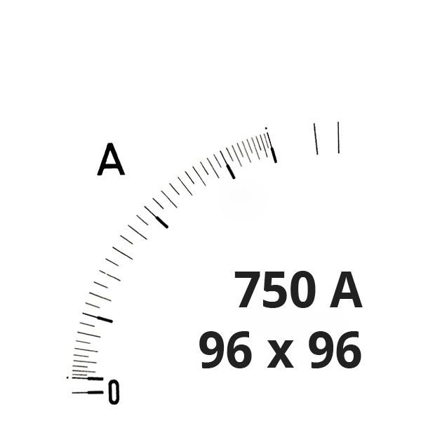 Wechselskala 750(1500)A