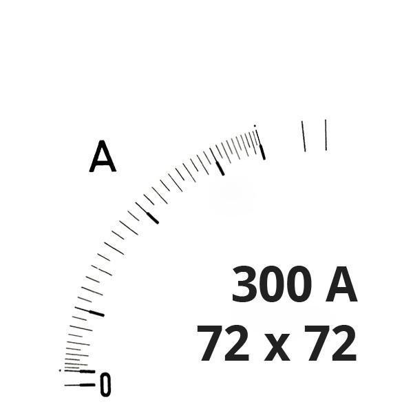 Wechselskala 300(600)A