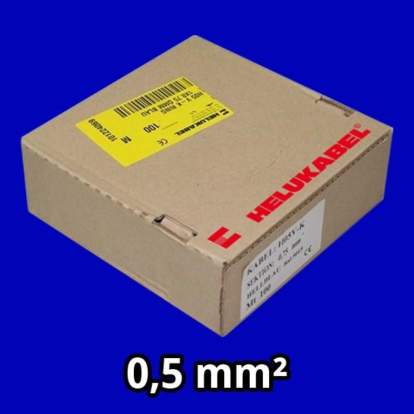 PVC- Einzeladern H05 V-K 0.5² dbl