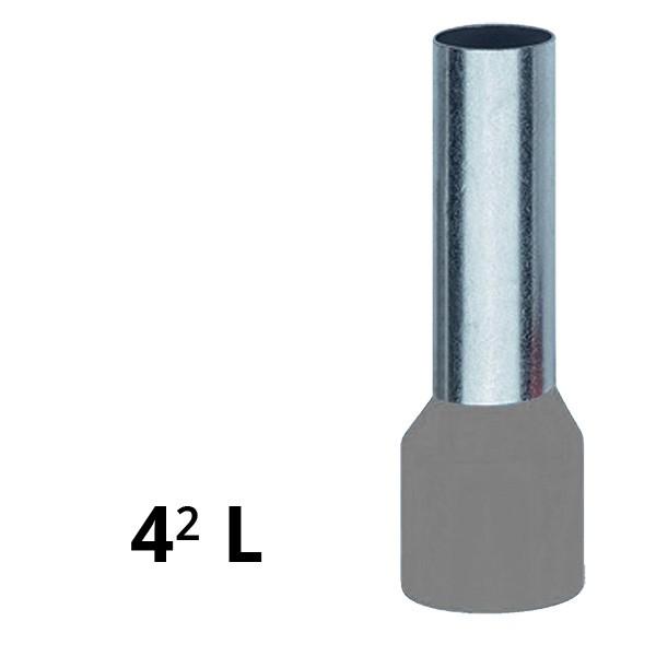 Aderendhülse isoliert 4² L