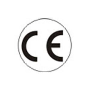 Sicherheitsschild CE Ø=16 mm