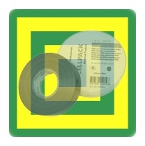 PVC-Isolierband grün-gelb