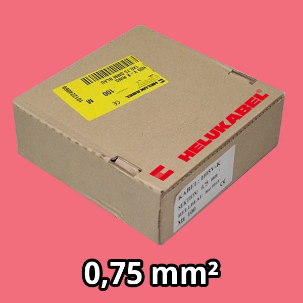 PVC- Einzeladern H05 V-K 0.75² rosa