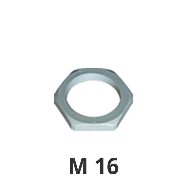 Gegenmutter M16 grau