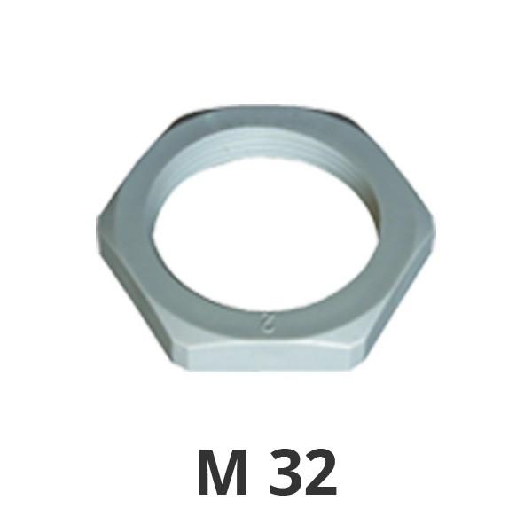 Gegenmutter M32 grau