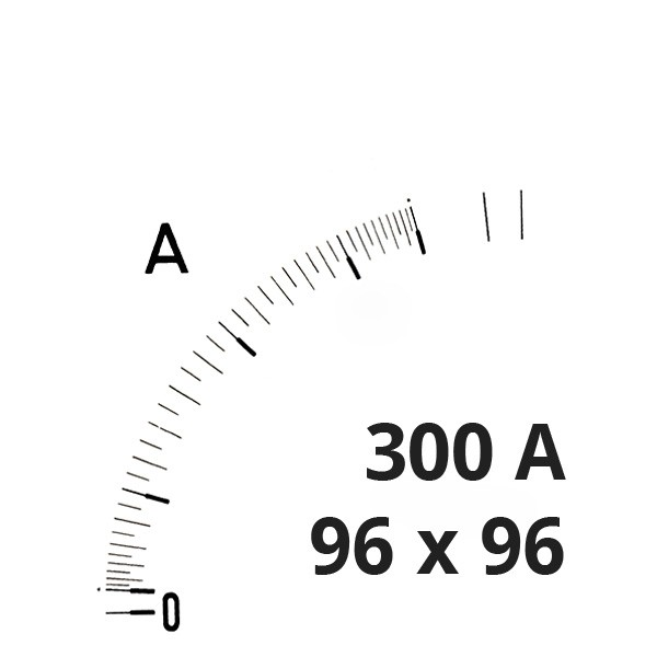 Wechselskala 300A