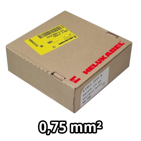 PVC- Einzeladern H05 V-K 0.75² weiß