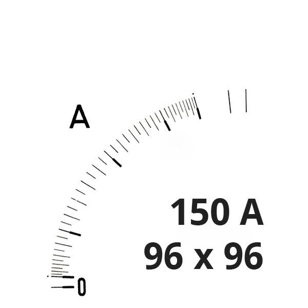 Wechselskala 150(300)A