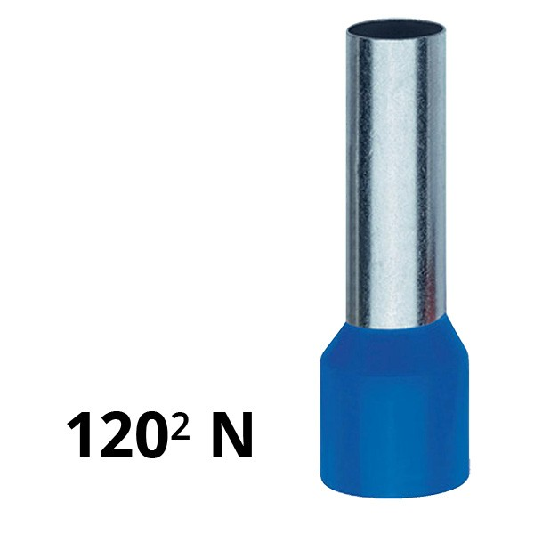 Aderendhülse isoliert 120² N