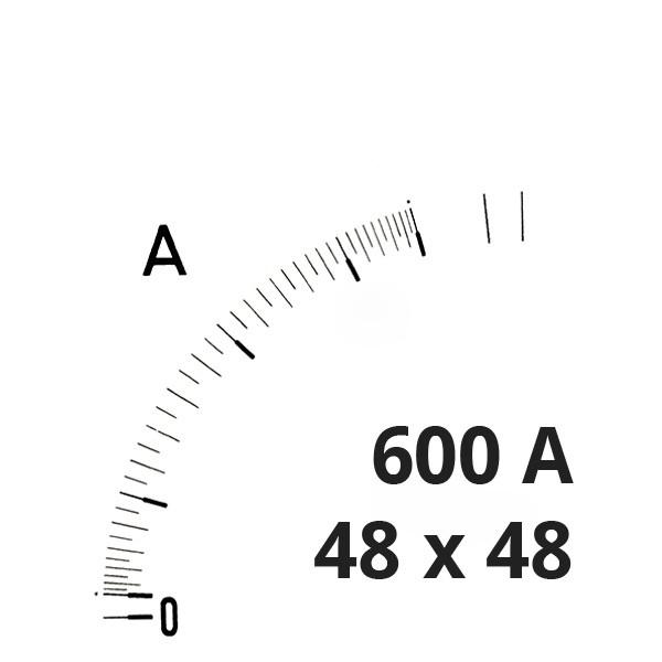 Wechselskala 600A für DEA 48 AQ