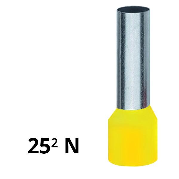 Aderendhülse isoliert 25² N