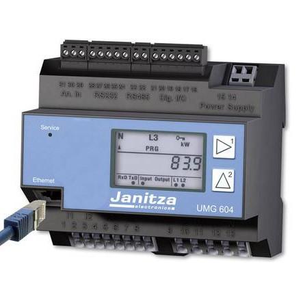 Hochleistungs-Netzanalysator UMG 604 E PRO