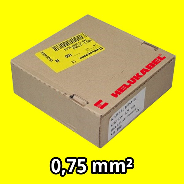 PVC- Einzeladern H05 V-K 0.75² gelb
