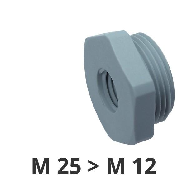 Reduzierungen M25x1,5/M12x1,5