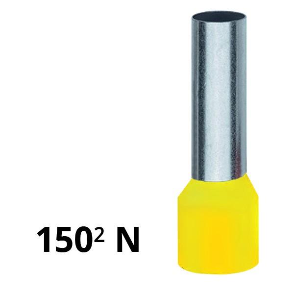 Aderendhülse isoliert 150² N