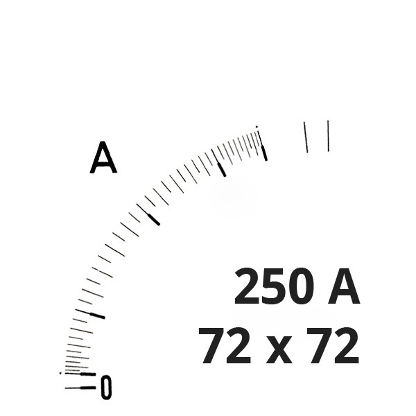 Wechselskala 250(500)A