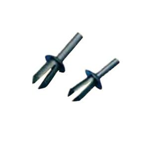Spreiznieten 5,2 mm schwarz Polyamid