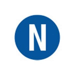 Sicherheitsschild N Ø=16 mm