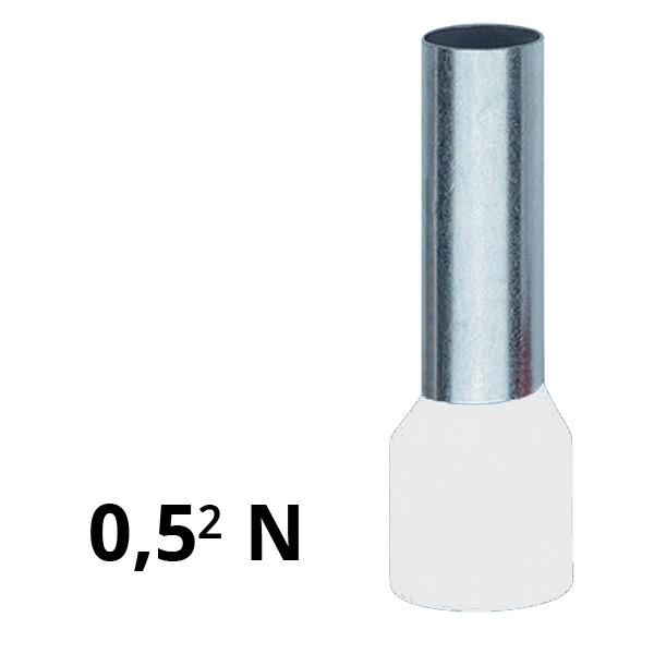 Aderendhülse isoliert 0,5² N