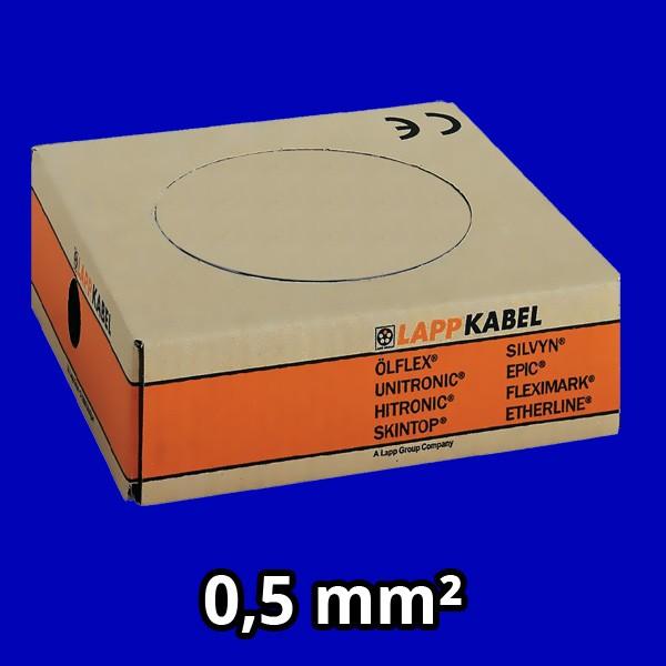 PVC- Einzeladern H05 V-K 0,5² Umbl