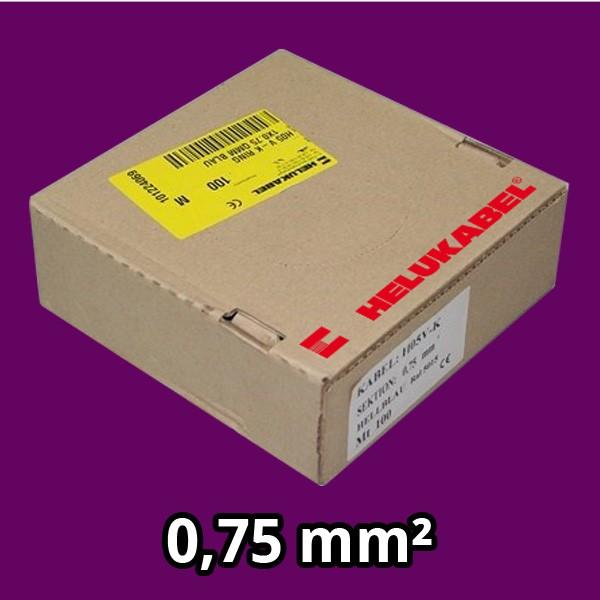 PVC- Einzeladern H05 V-K 0.75² violett