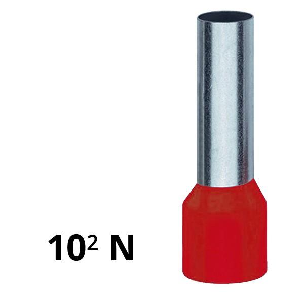 Aderendhülse isoliert 10² N