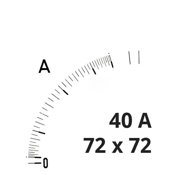 Wechselskala 40(80)A