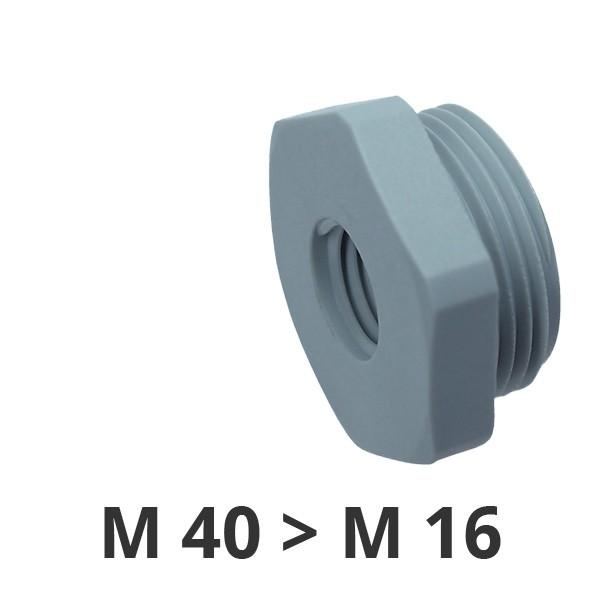 Reduzierungen M40x1,5/M16x1,5