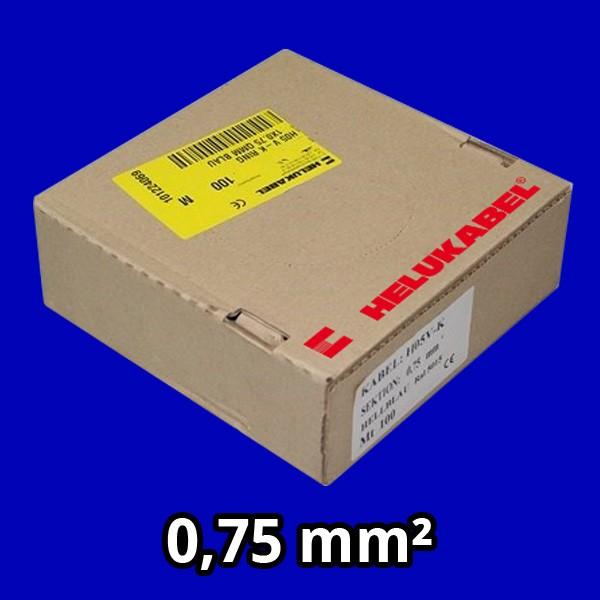 PVC- Einzeladern H05 V-K 0.75² dbl