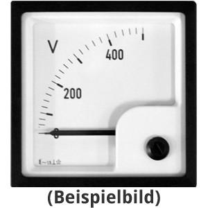 Spannungsmesser DE 72 250VAC