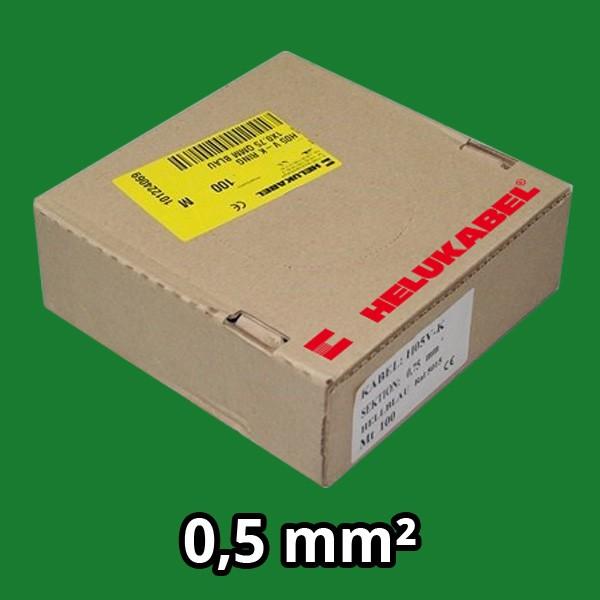 PVC- Einzeladern H05 V-K 0.5² grün