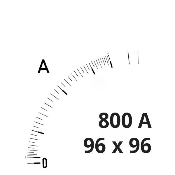 Wechselskala 800(1600)A