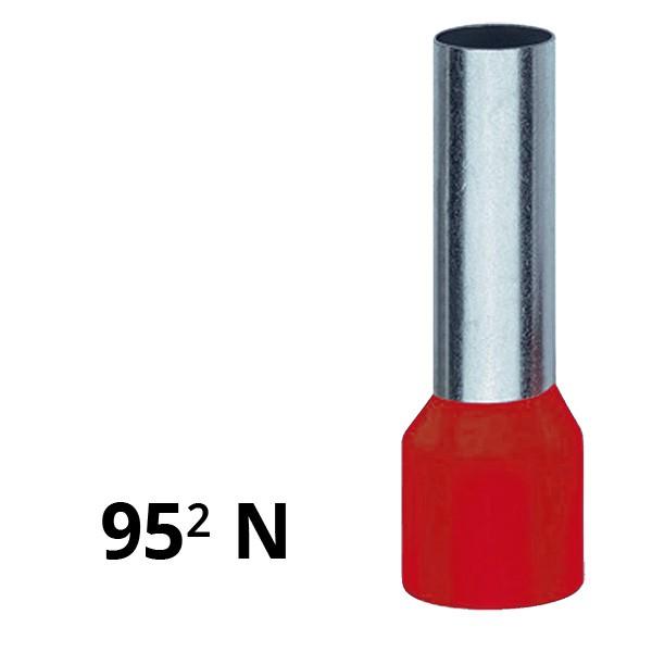 Aderendhülse isoliert 95² N