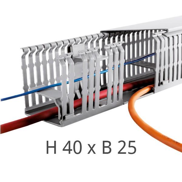 Verdrahtungskanal F2000 H40 x B25