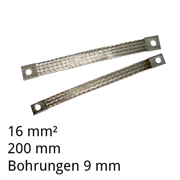 Masseband flexibel verzinnt 16²