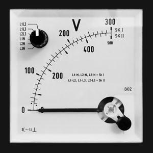 Spannungsmesser DE 72 500VAC