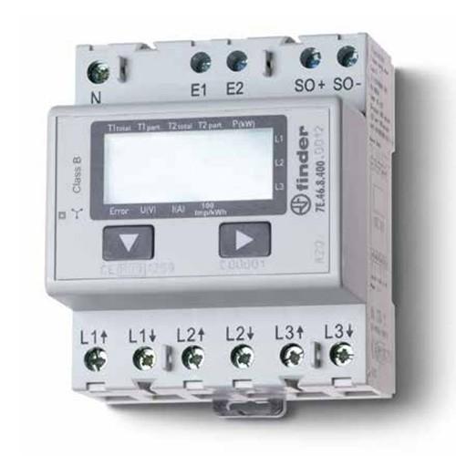 Wirkstromzähler elektronisch-LCD M-Bus