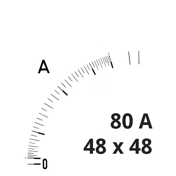 Wechselskala 80A