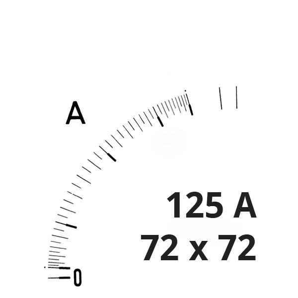 Wechselskala 125(150)A
