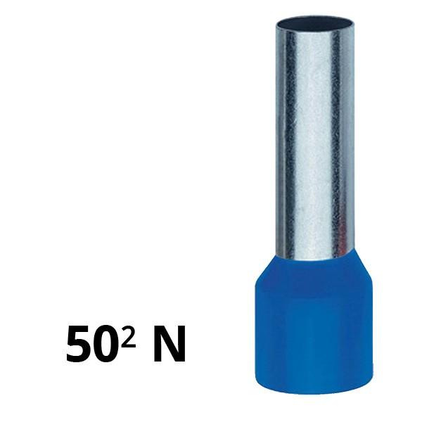 Aderendhülse isoliert 50² N