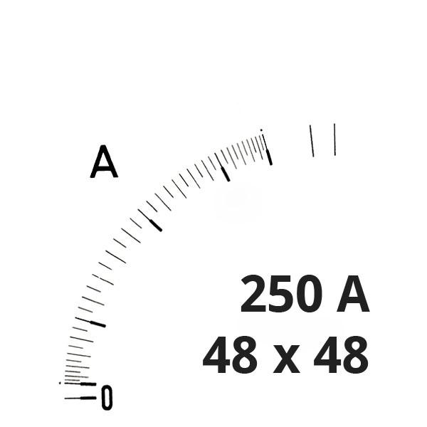 Wechselskala 250A