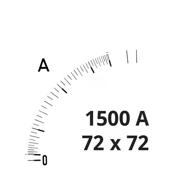 Wechselskala 1500(3000)A