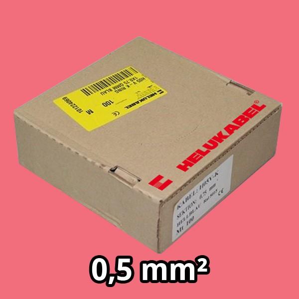 PVC- Einzeladern H05 V-K 0.5² rosa