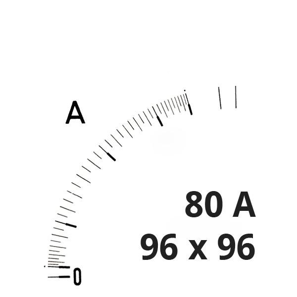 Wechselskala 80(160)A